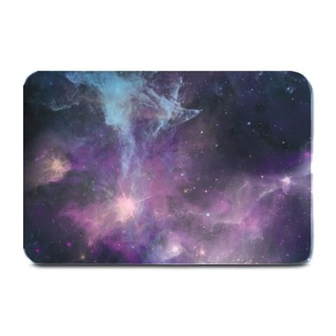 Blue Galaxy  Plate Mats