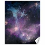 Blue Galaxy  Canvas 11  x 14   14 x11 Canvas - 1
