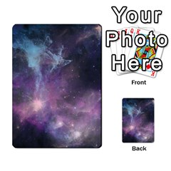 Blue Galaxy  Multi Purpose Cards (rectangle)