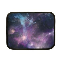 Blue Galaxy  Netbook Case (Small)