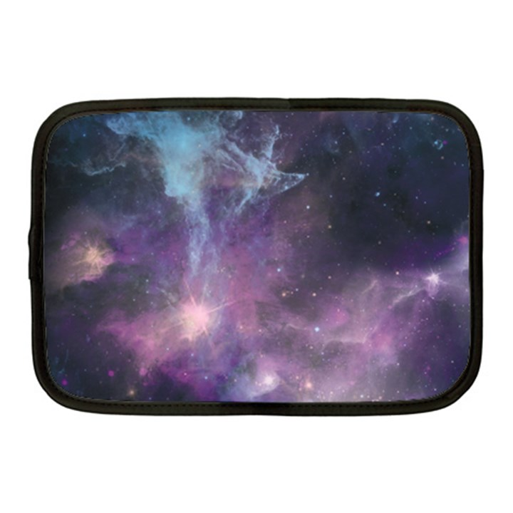 Blue Galaxy  Netbook Case (Medium)