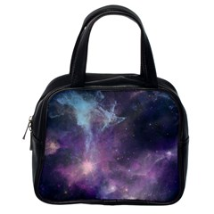 Blue Galaxy  Classic Handbags (One Side)
