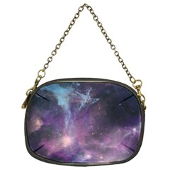 Blue Galaxy  Chain Purses (two Sides)