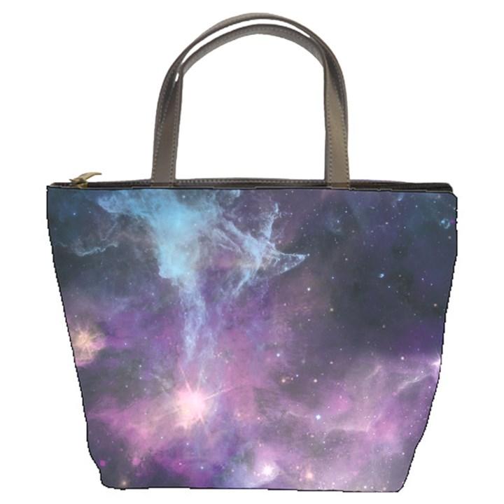 Blue Galaxy  Bucket Bags