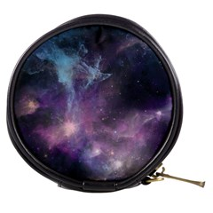 Blue Galaxy  Mini Makeup Bags
