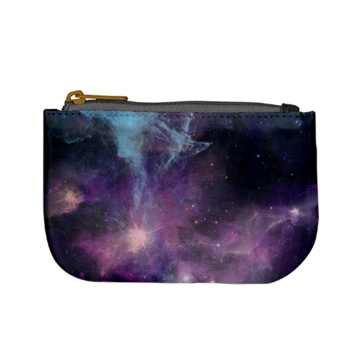 Blue Galaxy  Mini Coin Purses