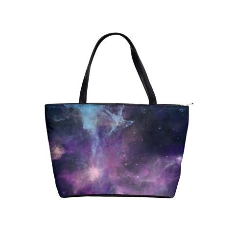 Blue Galaxy  Shoulder Handbags