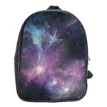 Blue Galaxy  School Bags(Large)  Front