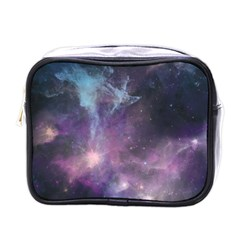 Blue Galaxy  Mini Toiletries Bags