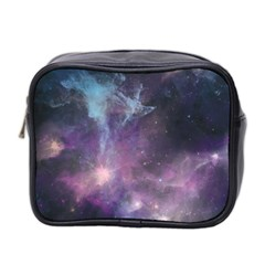 Blue Galaxy  Mini Toiletries Bag 2-Side