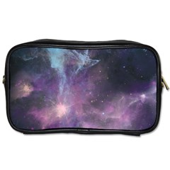 Blue Galaxy  Toiletries Bags 2 Side