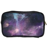 Blue Galaxy  Toiletries Bags 2-Side Front