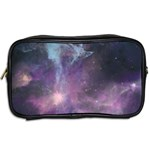 Blue Galaxy  Toiletries Bags 2-Side Back