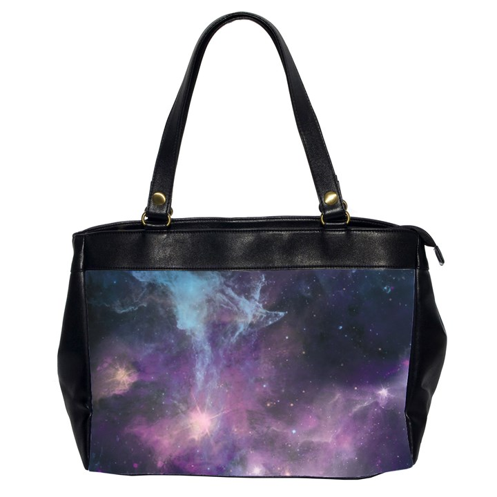 Blue Galaxy  Office Handbags (2 Sides)