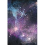 Blue Galaxy  5.5  x 8.5  Notebooks Back Cover Inside