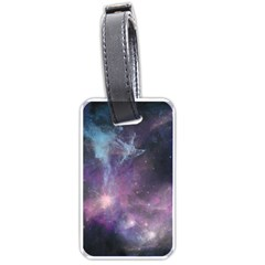 Blue Galaxy  Luggage Tags (one Side)