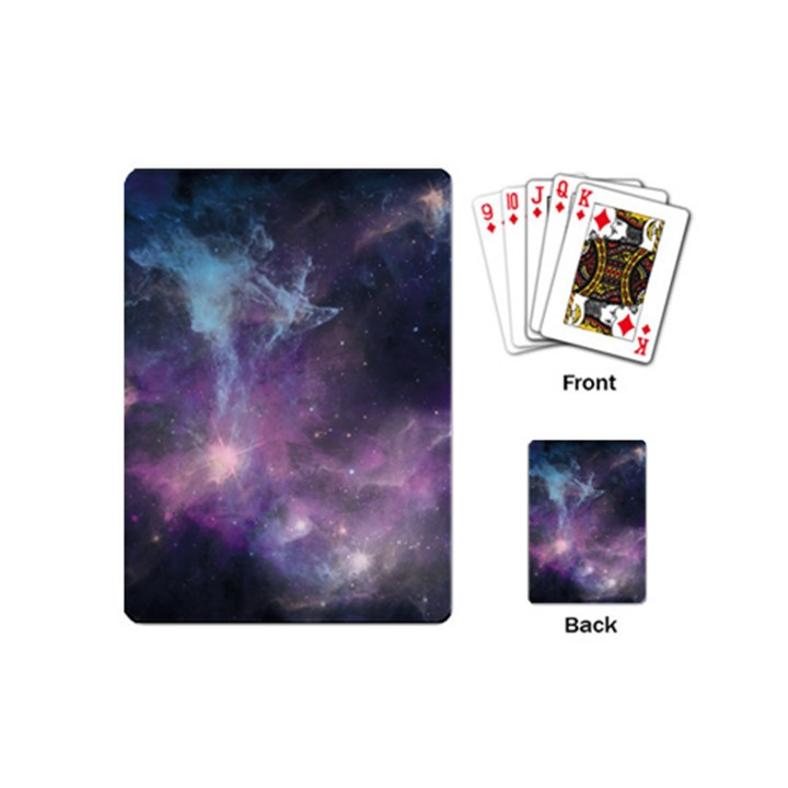 Blue Galaxy  Playing Cards (Mini)