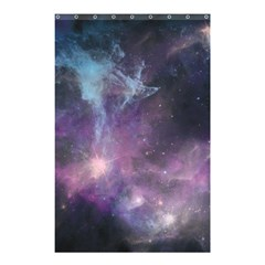 Blue Galaxy  Shower Curtain 48  X 72  (small)