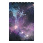 Blue Galaxy  Shower Curtain 48  x 72  (Small)  42.18 x64.8 Curtain