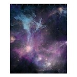 Blue Galaxy  Shower Curtain 60  x 72  (Medium)  54.25 x65.71 Curtain