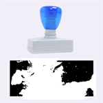 Blue Galaxy  Rubber Stamps (Large) 2.26 x1.05  Stamp