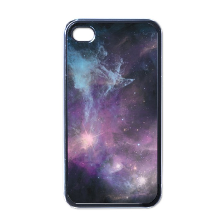 Blue Galaxy  Apple iPhone 4 Case (Black)