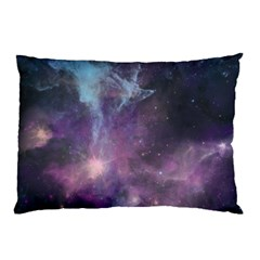 Blue Galaxy  Pillow Case (two Sides)