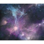 Blue Galaxy  Deluxe Canvas 14  x 11  14  x 11  x 1.5  Stretched Canvas