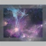 Blue Galaxy  Deluxe Canvas 16  x 12   16  x 12  x 1.5  Stretched Canvas