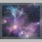 Blue Galaxy  Deluxe Canvas 24  x 20   24  x 20  x 1.5  Stretched Canvas