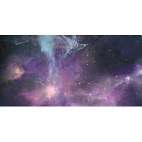 Blue Galaxy  YOU ARE INVITED 3D Greeting Card (8x4)