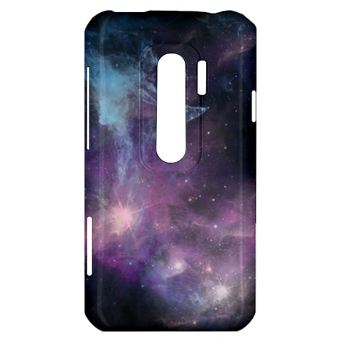 Blue Galaxy  HTC Evo 3D Hardshell Case