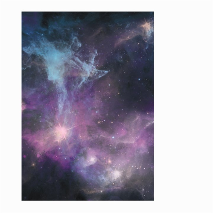 Blue Galaxy  Large Garden Flag (Two Sides)