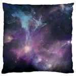 Blue Galaxy  Large Cushion Case (Two Sides) Back