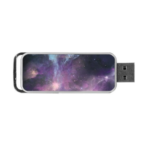 Blue Galaxy  Portable USB Flash (Two Sides)