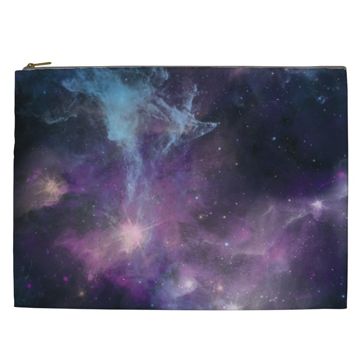 Blue Galaxy  Cosmetic Bag (XXL)