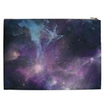 Blue Galaxy  Cosmetic Bag (XXL)  Back