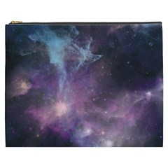 Blue Galaxy  Cosmetic Bag (XXXL)