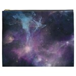 Blue Galaxy  Cosmetic Bag (XXXL)  Front