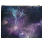 Blue Galaxy  Cosmetic Bag (XXXL)  Back