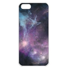 Blue Galaxy  Apple Iphone 5 Seamless Case (white)