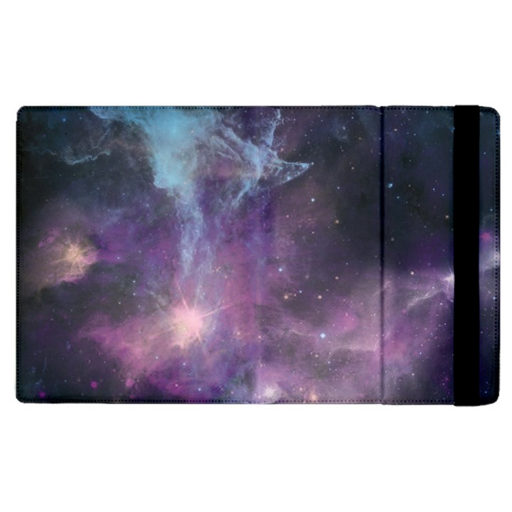 Blue Galaxy  Apple iPad 2 Flip Case