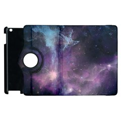 Blue Galaxy  Apple iPad 3/4 Flip 360 Case