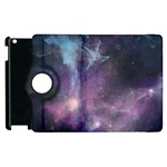 Blue Galaxy  Apple iPad 3/4 Flip 360 Case Front
