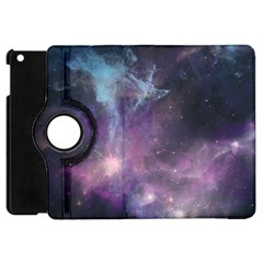 Blue Galaxy  Apple iPad Mini Flip 360 Case
