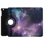 Blue Galaxy  Apple iPad Mini Flip 360 Case Front