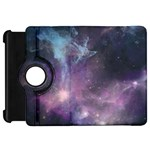 Blue Galaxy  Kindle Fire HD Flip 360 Case Front