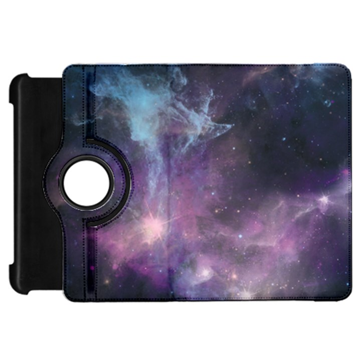 Blue Galaxy  Kindle Fire HD Flip 360 Case