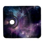 Blue Galaxy  Samsung Galaxy S  III Flip 360 Case Front