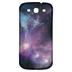 Blue Galaxy  Samsung Galaxy S3 S III Classic Hardshell Back Case
